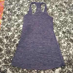 CUTE!!! Purple swirl LULULEMON Tank Top Size 4